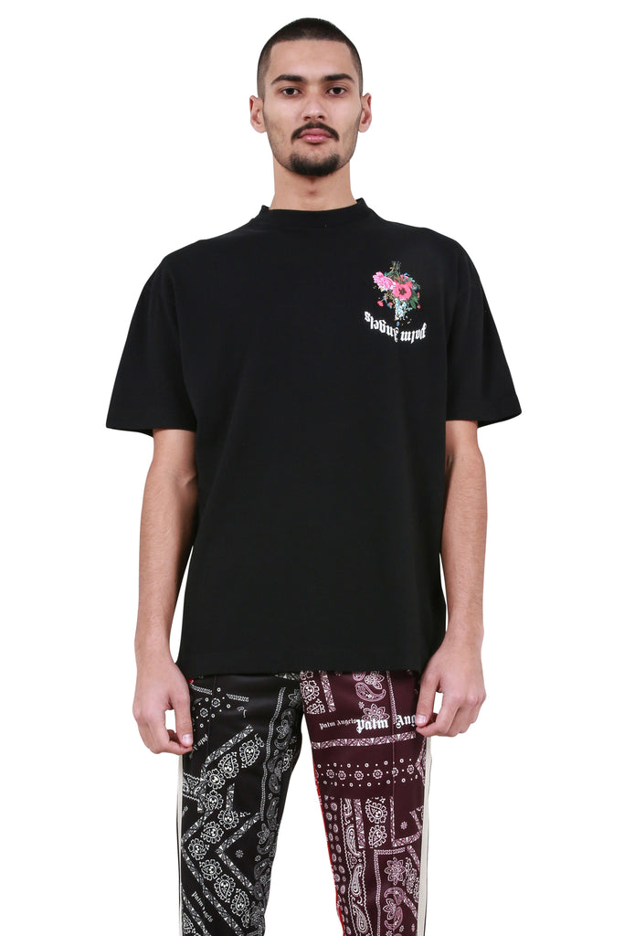 Flowers T-Shirt - Black