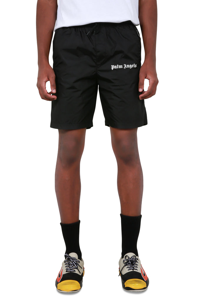 Logo Swim Shorts - Black