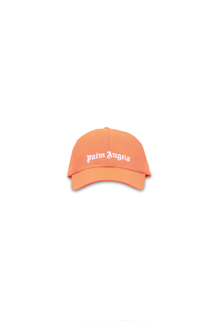 PALM ANGELS: Classic Logo Cap - Prison Orange | LESSONS