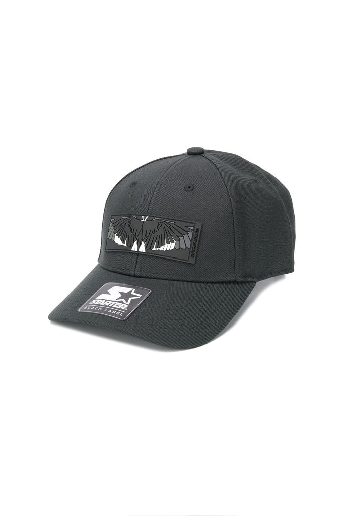 Patch Wings Cap - Black