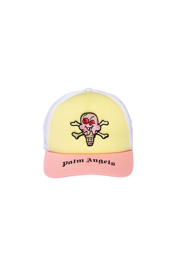 ICECREAM Skull Cap - White