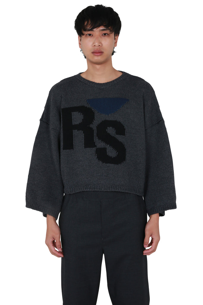 Oversized RS Sweater - Grey