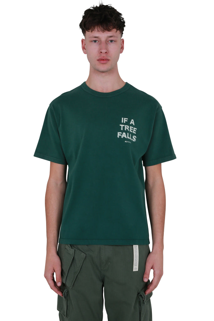 If A Tree Falls T-shirt - Green