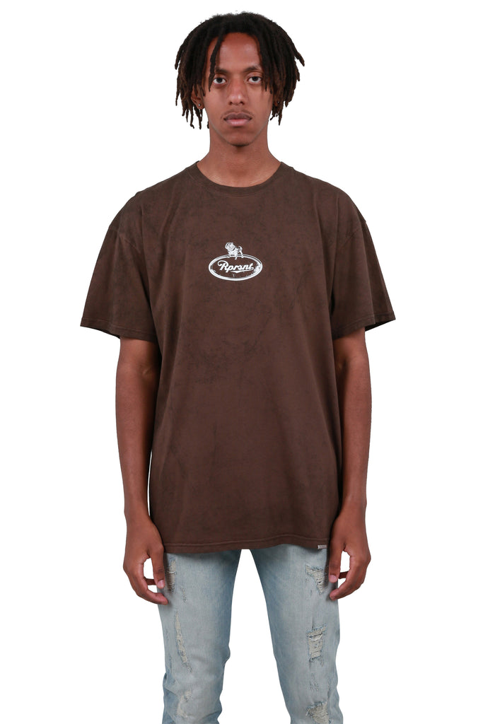 Truck Logo T-shirt - Vintage Brown