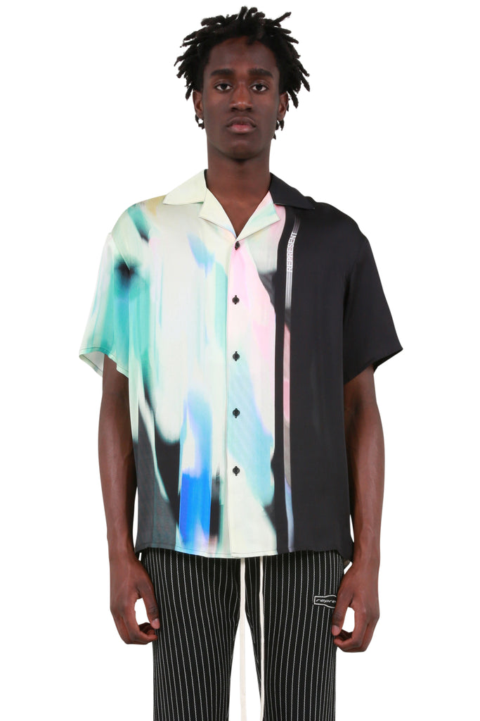 REPRESENT CLO: Camp Collar Shirt - Spectrum | LESSONS