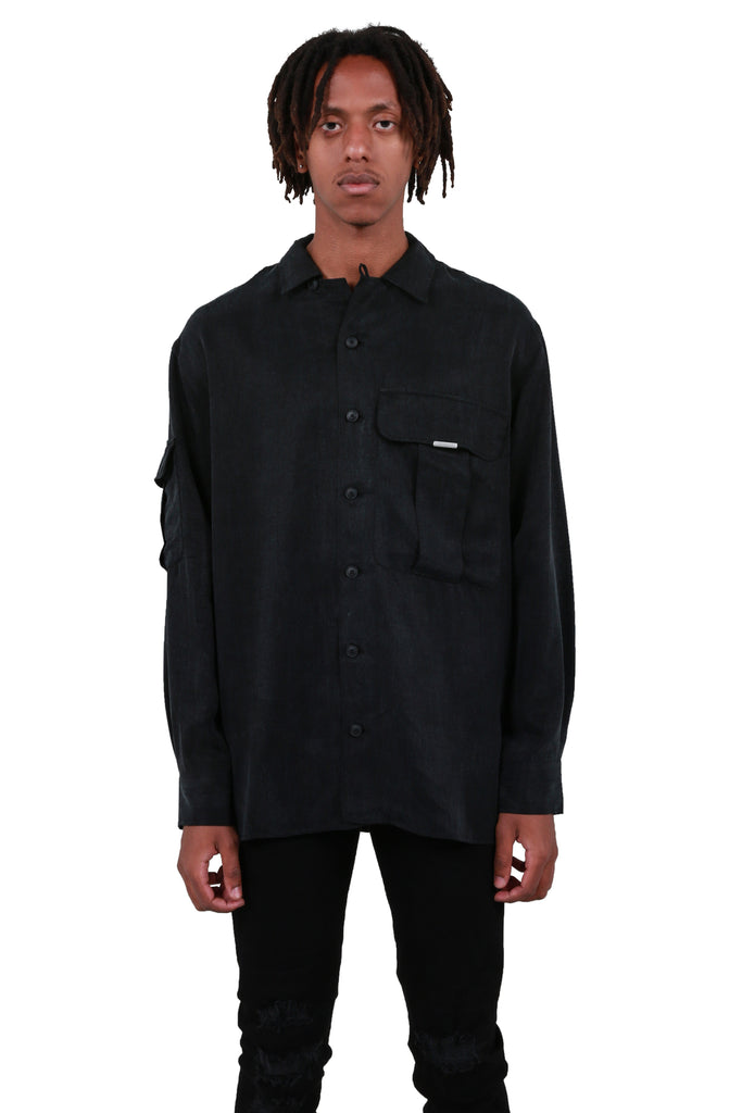 Overshirt - Dragoni Black