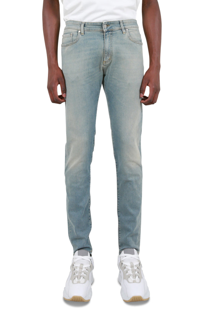REPRESENT CLO: Essential Denim - Pale Blue | LESSONS