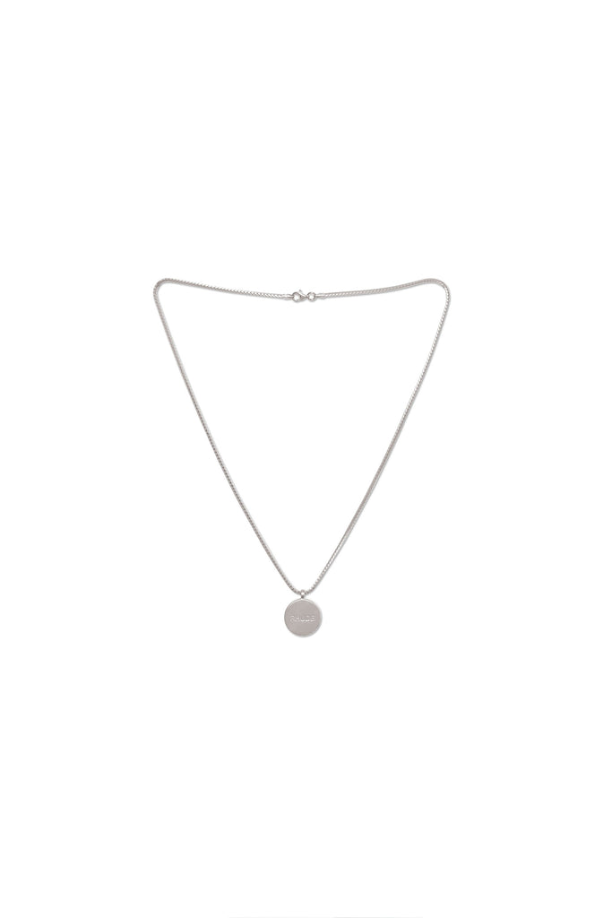 Rhude Logo Necklace - Silver