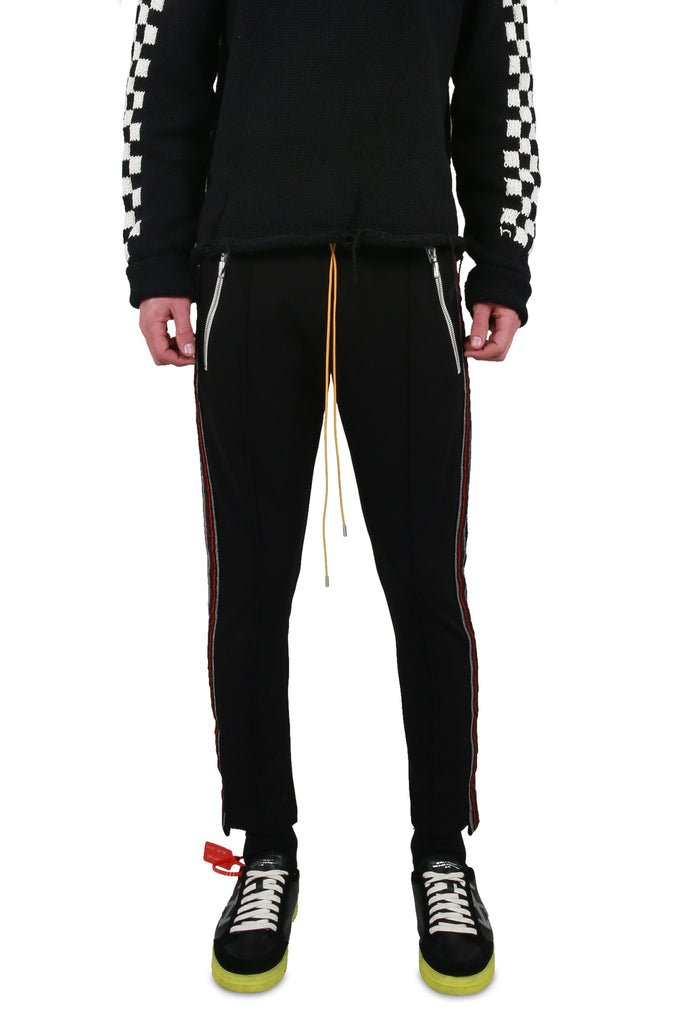 Traxedo Pant - Black/Red
