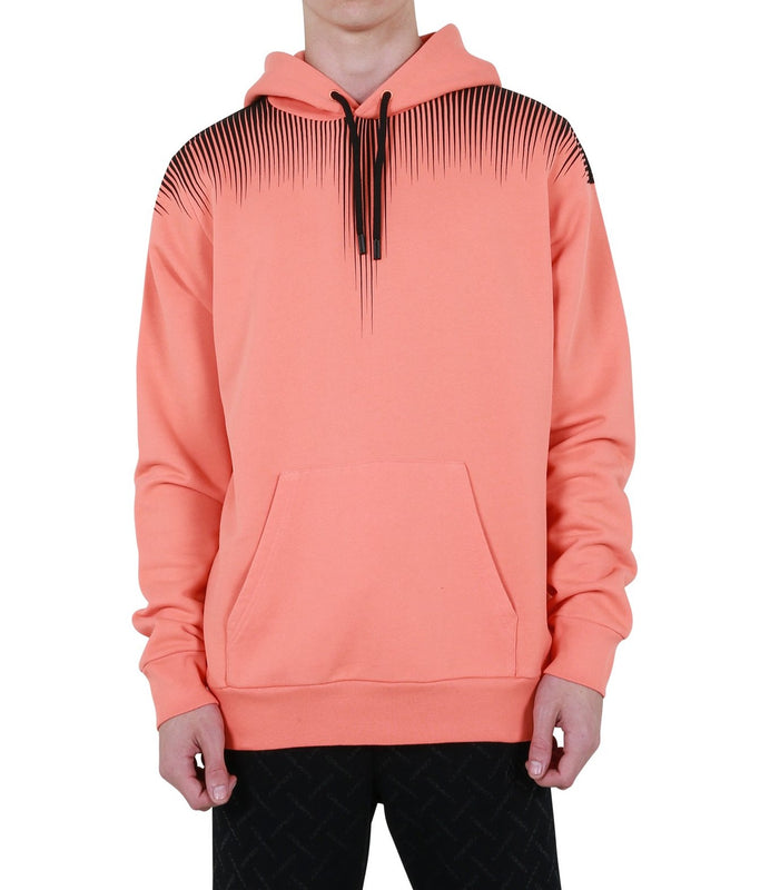 Falls Wings Regular Hoodie - Faded Orange/Black