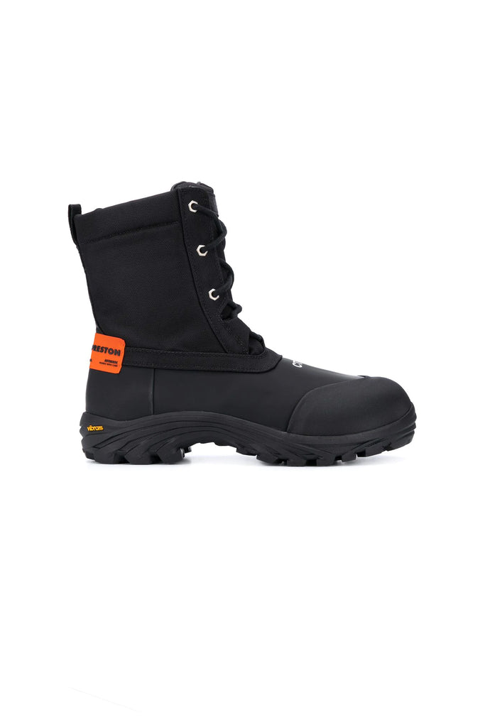 Security Boots - Black/Orange
