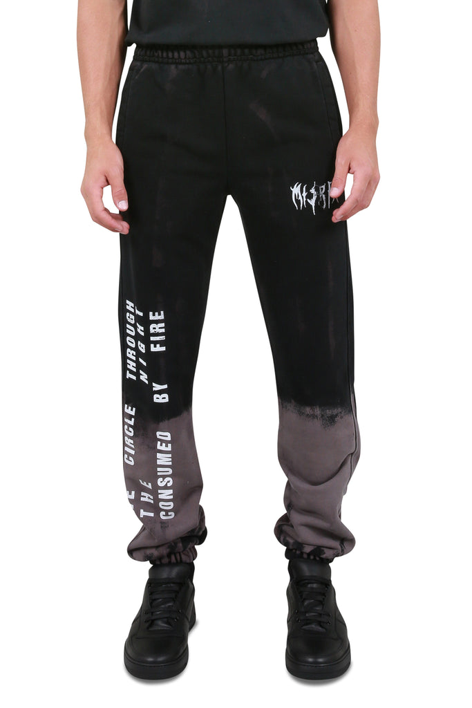 MISBHV: Destroyed Graphic Military MLC Sweatpants | LESSONS