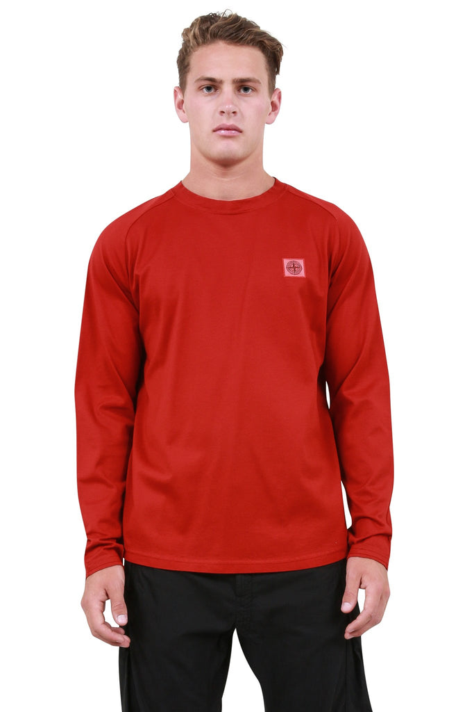 Longsleeve Logo T-Shirt - Brick Red