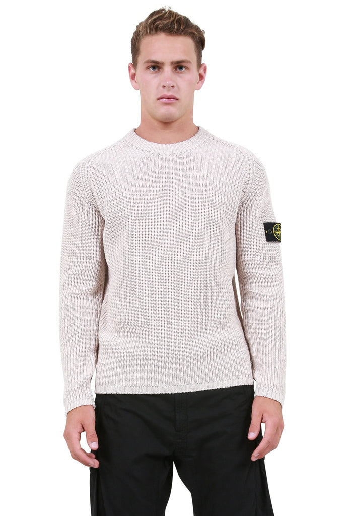 Knit Crewneck - Stucco