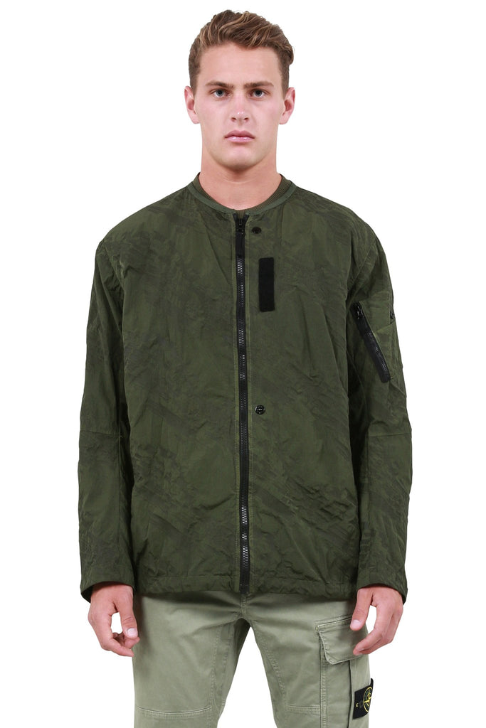 Oversized Bomber - Army Green