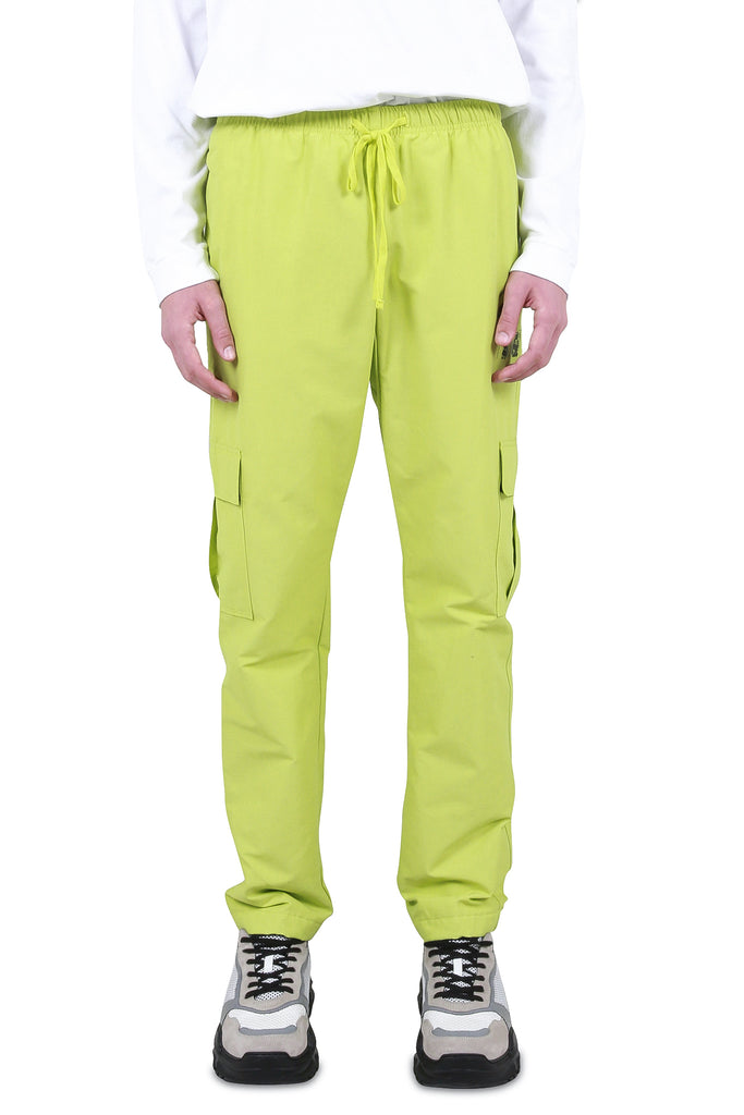 SIBERIA HILLS: BMX Cargo Pants - Neon Yellow | LESSONS