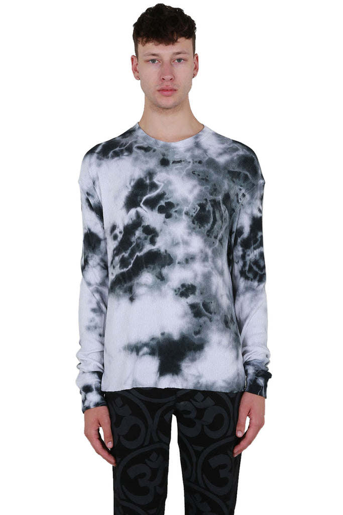 Tie Dye Thermal Long Sleeve