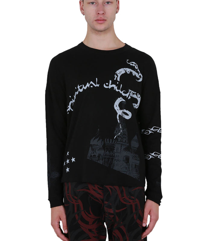 Spiritual Long Sleeve - Black