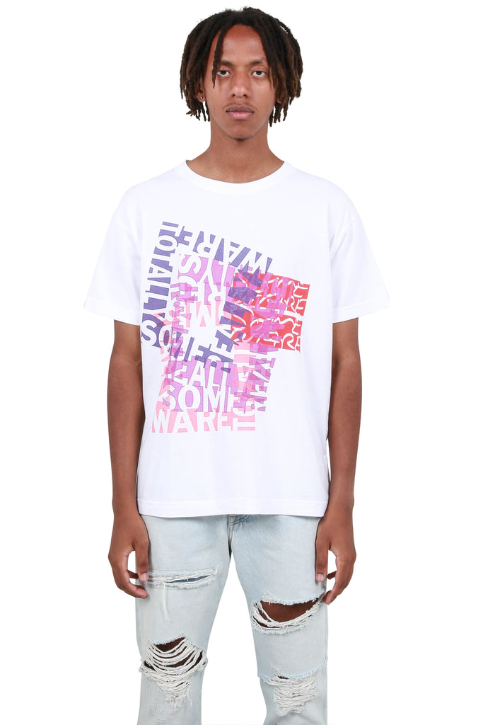 Totally Really Short Sleeve T-shirt - White