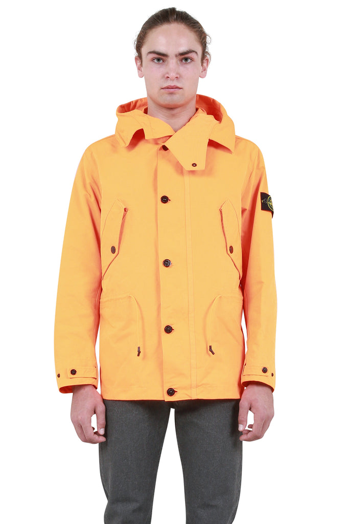 STONE ISLAND: David TC-Coat - Orange | LESSONS