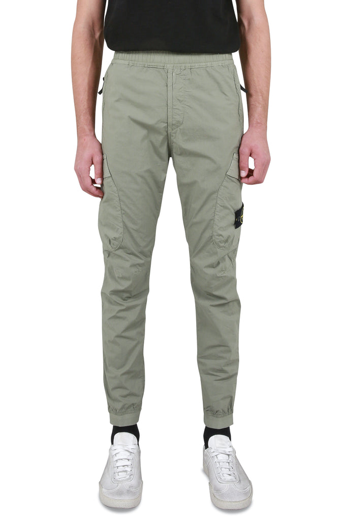 Light Stretch Cargo Pant - Olive Green