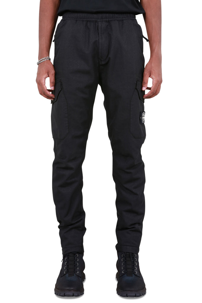 Cargo Track Trousers - Black