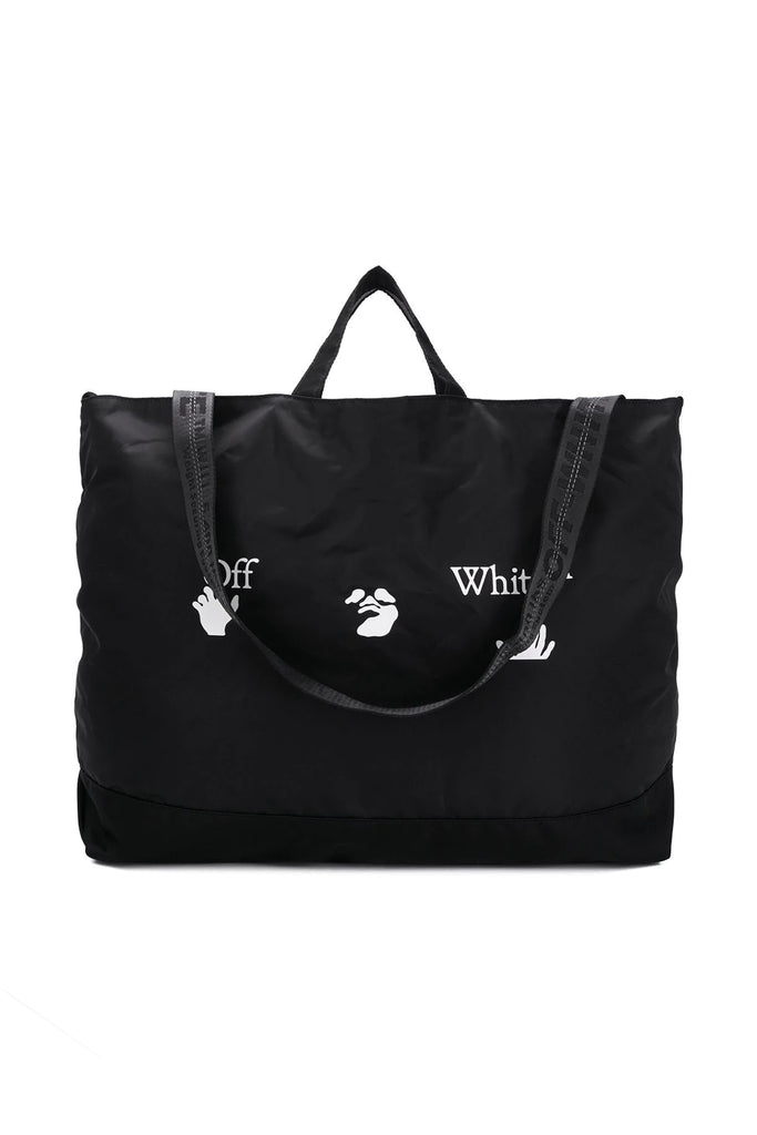 Logo Tote Bag - Black/White