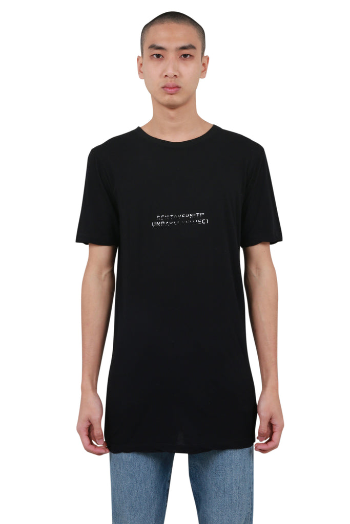Elongated T-shirt - Black