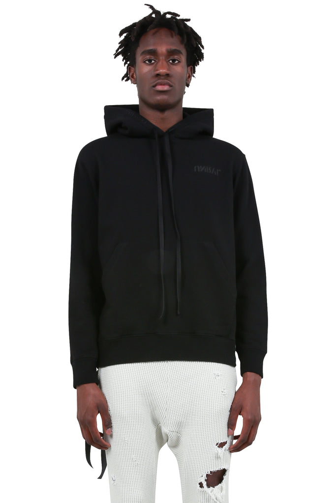 UNRAVEL PROJECT: Ete Skull Basic Terry Hoodie - Black | LESSONS