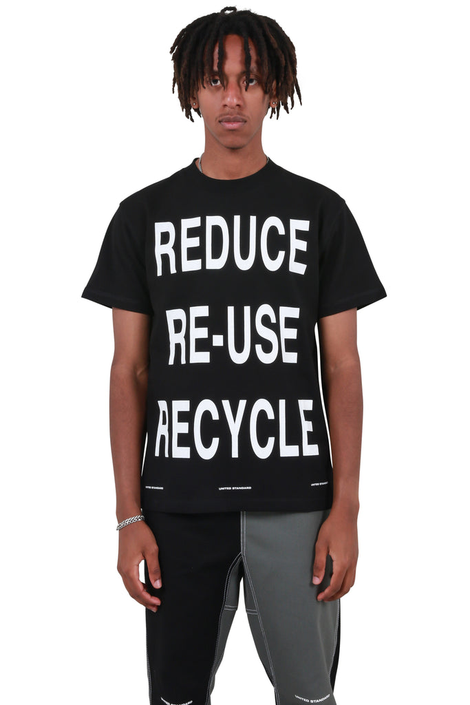 Virgil Recycle T-shirt - Black