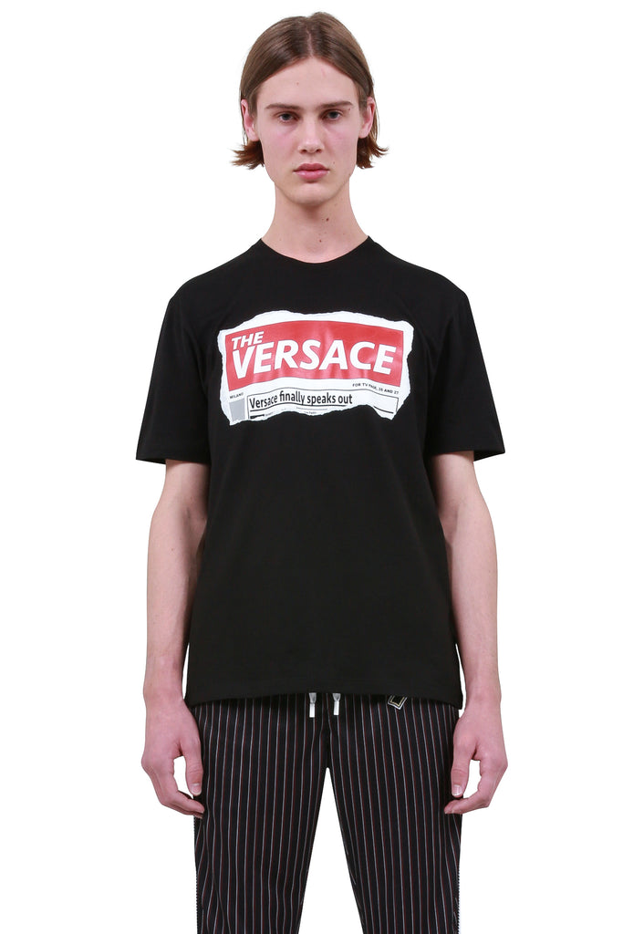 Tabloid T-Shirt - Black