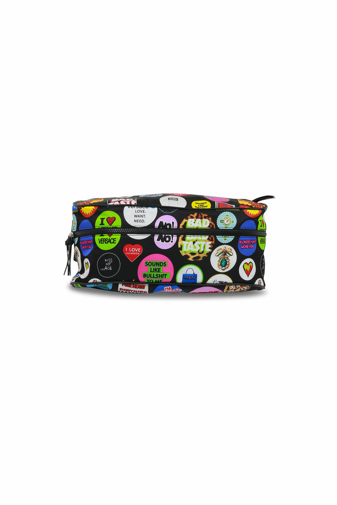 VERSACE: Badge Fanny Pack - Multi | LESSONS