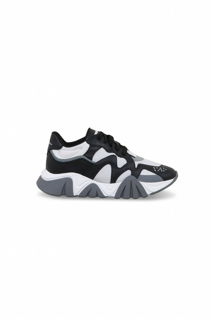 Squalo Sneakers - Black/White