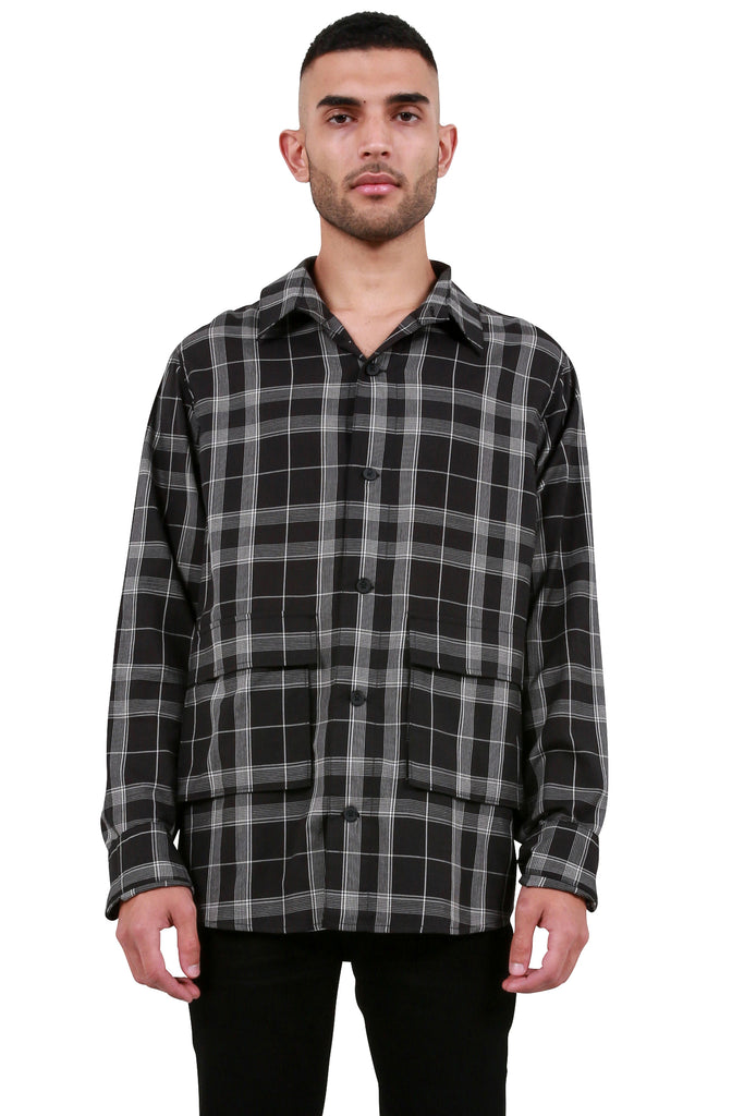 Field Shirt - Black Plaid