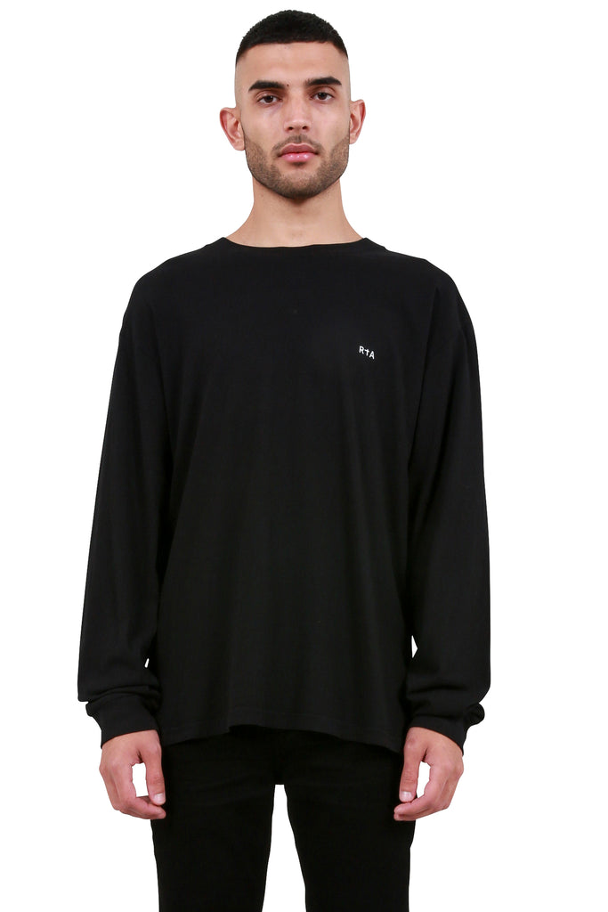 Self Portrait Long Sleeve - Black
