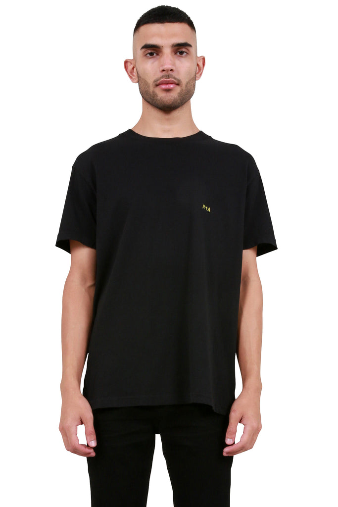 Self Portrait T-Shirt - Black