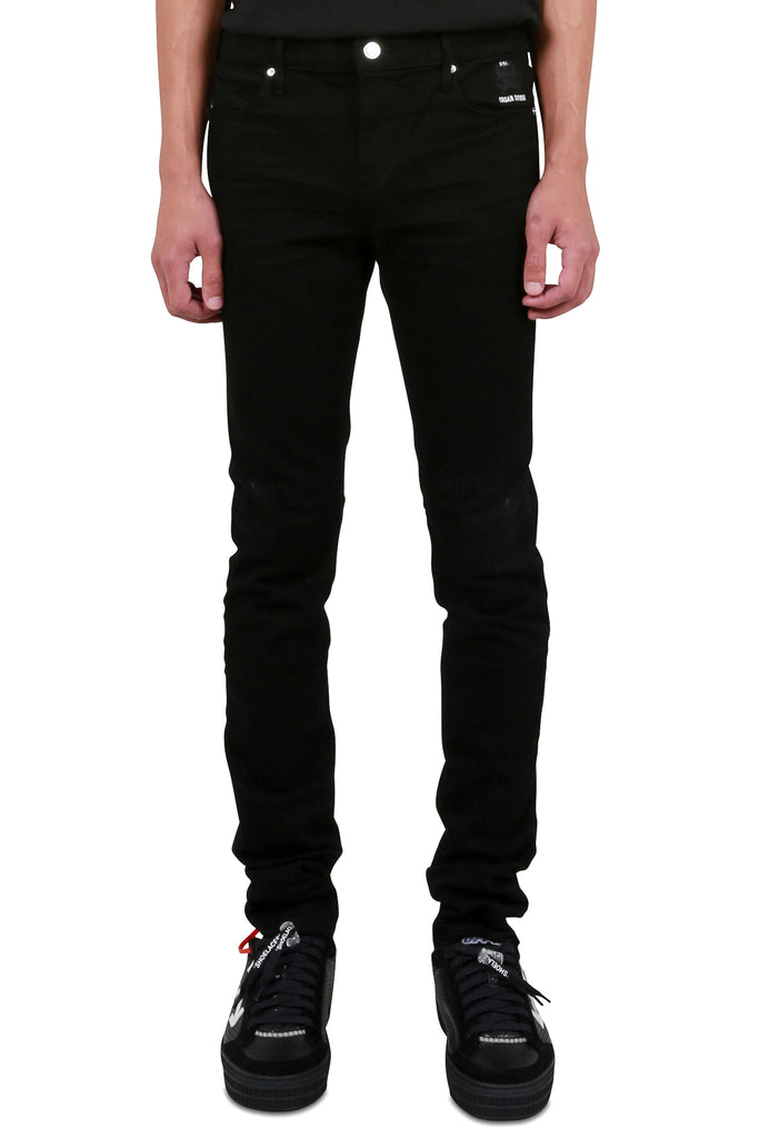 Early Retirement Skinny Denim - Black