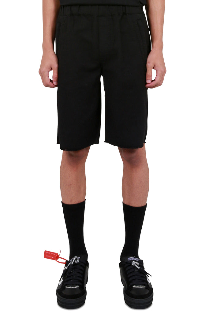 Zipper Shorts - Black