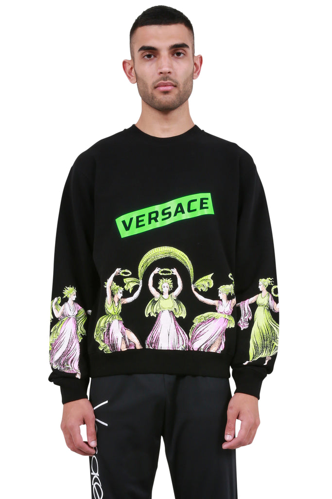 Dancing Statues Sweatshirt - Black