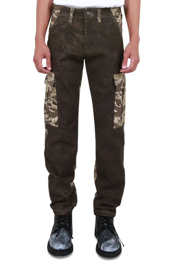 Tiger Camo Pants - Tan/Brown