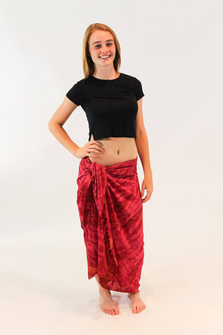 organic-cotton-tie-dye-wrap-sarong-scarf-beach-cover-up-dark-red