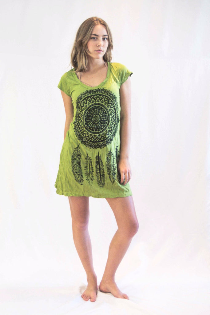 tunic-dress-dreamcatcher-green