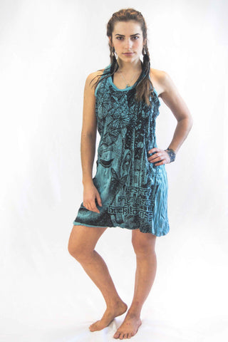 tank-dress-buddha-face-turquoise