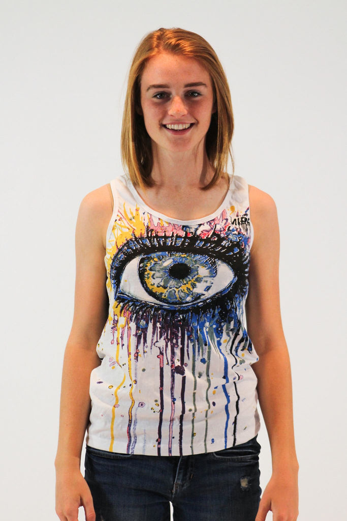 Women's Tank Top Eye Mirror - Koia Collective
