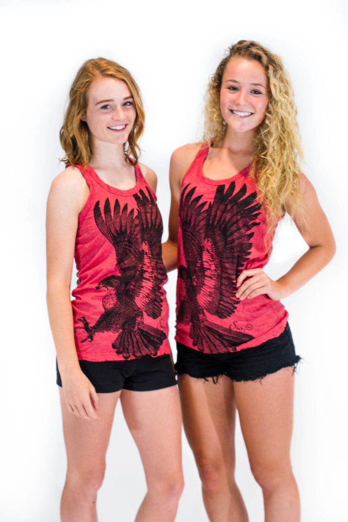 Women's Tank Top Eagle Red - Koia Collective