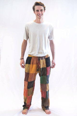 Patch Color Pants - Koia Collective