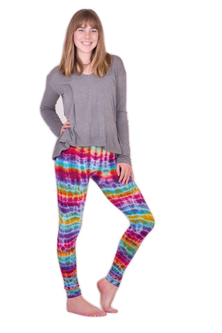 Melting Rainbow Tie Dye Leggings - Koia Collective