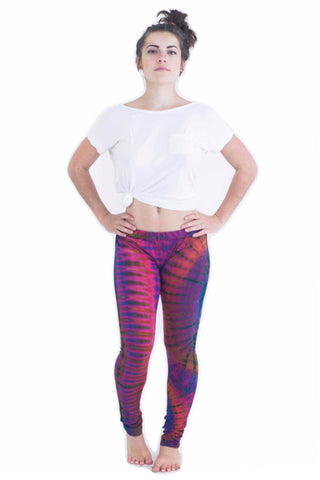 Pink Swirl Tie Dye Leggings - Koia Collective