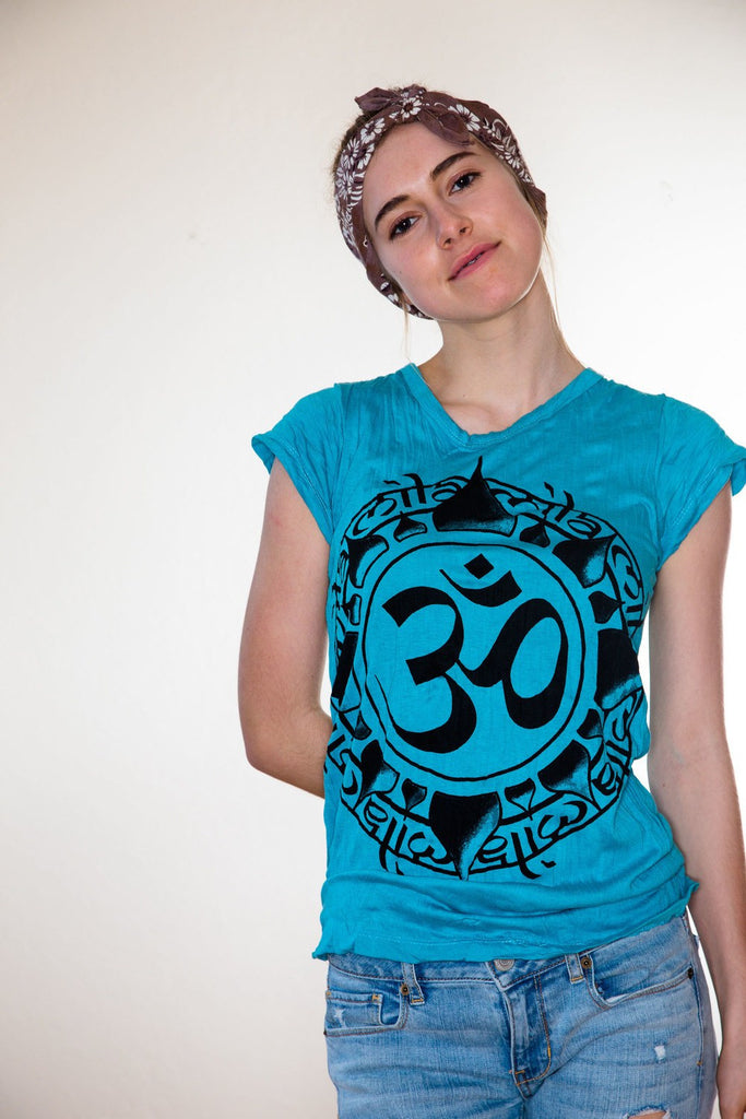 Women's Shirt Ohm Blue - Koia Collective