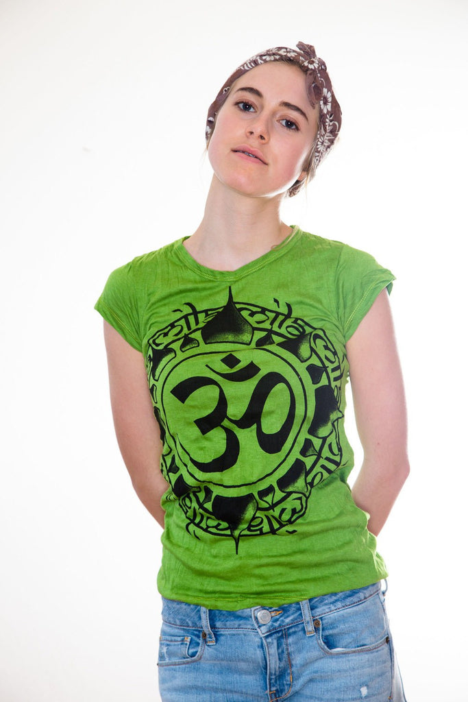 Women's Shirt Ohm Green - Koia Collective